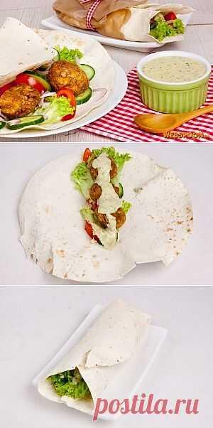 Фалафель. Легендарное и очень вкусное блюдо! Подойдет так и на обед, ужин и на перекус!