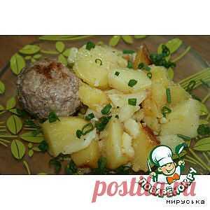 Котлеты с картошечкой в мультиварке - кулинарный рецепт