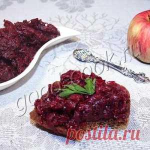 Свекольная икра с яблоками - МирТесен
