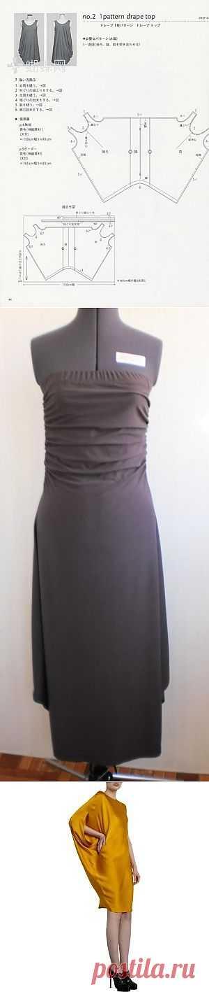 Просто и очень просто. / Простые выкройки / Модный сайт о стильной переделке одежды и интерьера