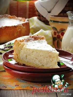 Тосканский рисовый пирог. Очень душевный и уютный пирог с легим ароматом цитрусовых. Традиционный тосканский десерт, который обычно подается после воскресного обеда. Автор: dolphy
