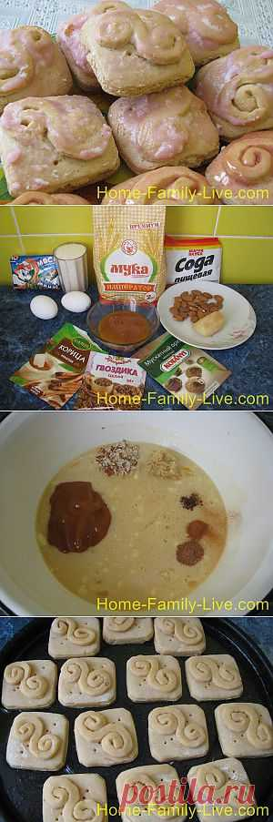 Пряники имбирные - пошаговый фоторецепт пряники на меду с имбирем | Кулинарные рецепты
