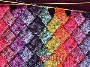 This surprising entrelak! MK of socks is a lot of ideas + \u000d\u000aLearned that entrelak there are I last spring. I did not take in hand a spoke many years, and here suddenly began to knit and could not stop. To learn how far the knitting thought stepped, I opened …