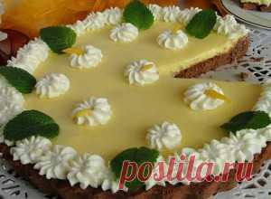 La torta de la masa dulce