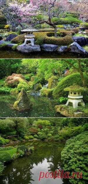 Сад Тисэн-кайю-сики. Восточный стиль