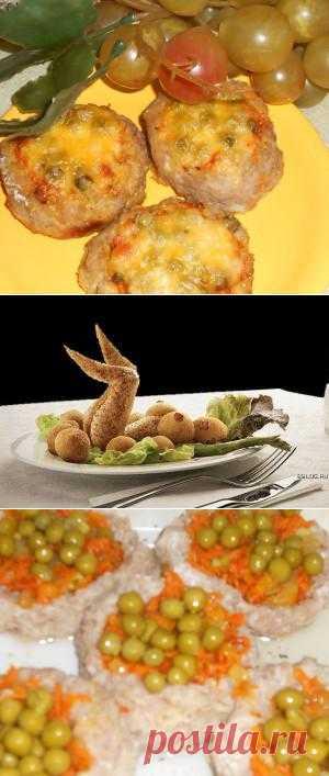 Мясное «гнездо» с овощами и сыром | Don Аппетит. Красивое и вкусное блюдо! Такое не стыдно подать к праздничному столу.
