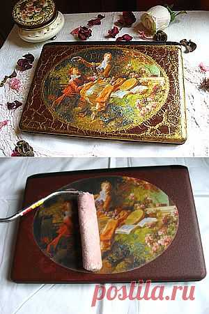Декор панели нетбука - Ярмарка Мастеров - ручная работа, handmade