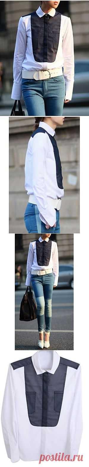 Рубашка / Декор / Модный сайт о стильной переделке одежды и интерьера