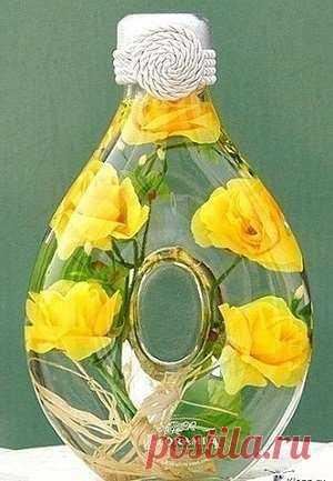 Сохрани первозданную красоту цветов с этoй идеей. Я бегу за цветами. Выглядит как дорогая деталь интерьера. | Офигенная