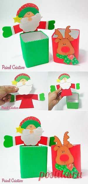 Como Fazer Lembrancinha para Natal em EVA | Painel Criativo