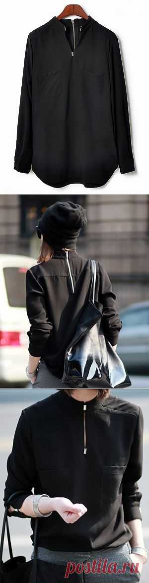 Замочек спереди и сзади / Рубашки / Модный сайт о стильной переделке одежды и интерьера