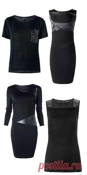 Кожаные вставки / Кожа / Модный сайт о стильной переделке одежды и интерьера