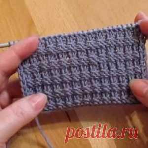 Узор спицами для свитера