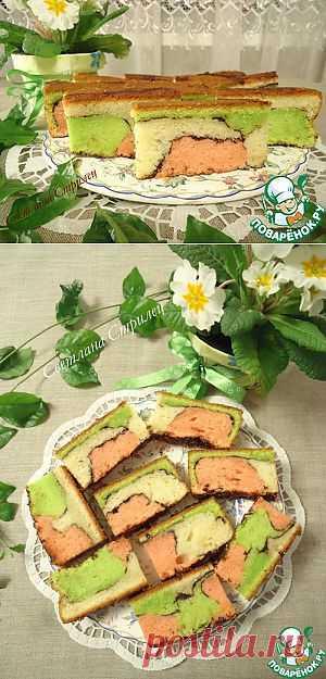 Малазийский красочный торт - кулинарный рецепт