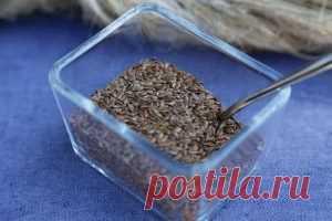Как похудеть с помощью семян льна: рецепты и отзывы