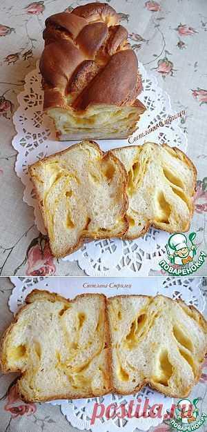 Сладкий мраморный тыквенный хлеб - кулинарный рецепт