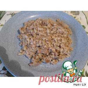 Перловая каша с грибами и курицей – кулинарный рецепт