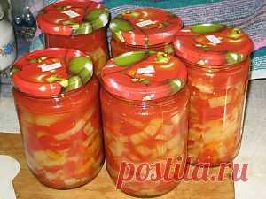 Приготовление лечо из перца - Овощи на зиму . 1001 ЕДА вкусные рецепты с фото!