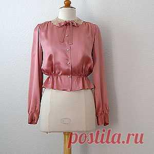 8fbea3cdd00 Бесплатные выкройки блузок. Выкройка блузки с баской.