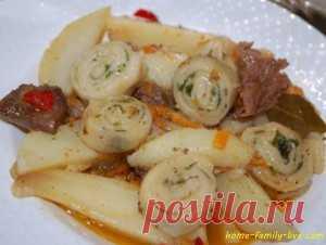 Нудли/Сайт с пошаговыми рецептами с фото для тех кто любит готовить