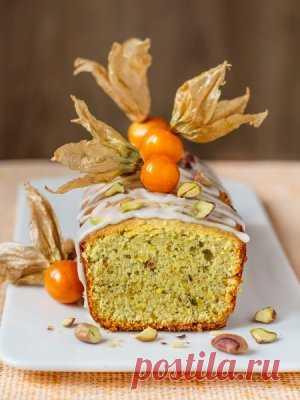 Как приготовить Фисташковый кекс с рикоттой - проверенный пошаговый рецепт с фото на Вкусном Блоге