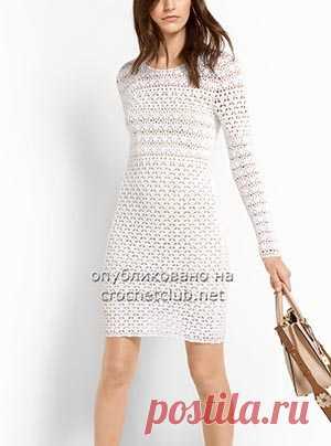 платье крючком платье крючком от бренда майкл корс авторская схема