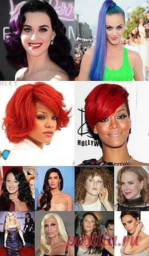 Меняем цвет волос!