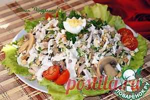 """Салат """"Чебурашка"""" - кулинарный рецепт"""