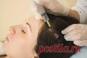 Верни своим волосам блеск и пышность! С помощью курса мезотерапии для волос. Инъекции витаминов и питательных веществ в кожу головы питают волосяные фолликулы, препятствуют выпадению и поседению волос. Стоимость процедуры от 1500, для достижения ощутимого эффекта необходимо пройти курс из 10 процедур.