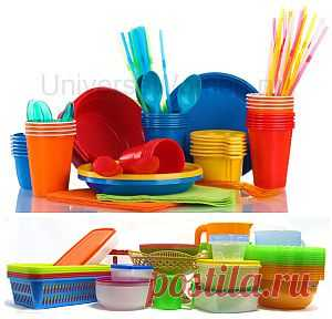 Как выбрать пластиковую посуду? |