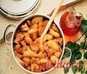 Румынская кухня: рагу из телятины