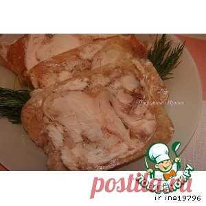 Ещё один рецепт куриного сальтисона.