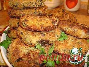Котлеты из баклажан - кулинарный рецепт