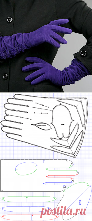 Pattern of gloves. Give two!