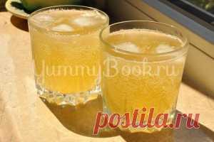 Имбирный лимонад с медом - пошаговый рецепт с фото