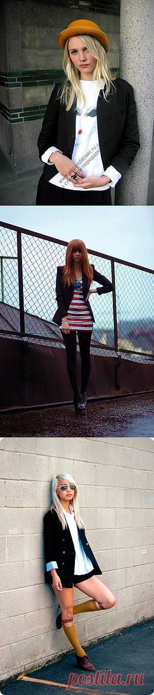 Модные пиджаки / Street Style / Модный сайт о стильной переделке одежды и интерьера