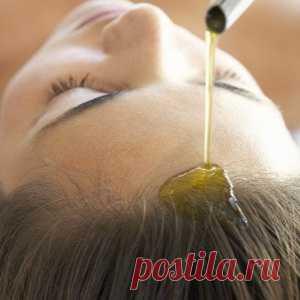 Эффективное средство от выпадения волос и облысения:массаж теплым маслом   FEMIANA