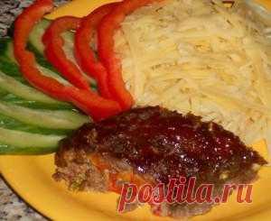 Мясной рулет с болгарским перцем | Don Аппетит. Рецепт на все случаи! Необычный вкус.