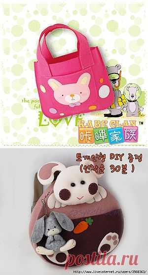 Детские сумочки и рюкзачки