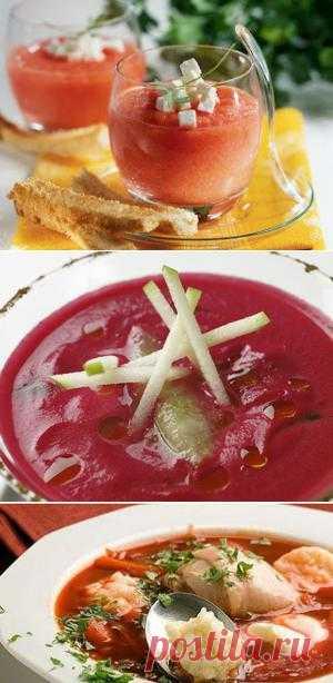 InVkus: Холодные супы в ресторанах Москвы