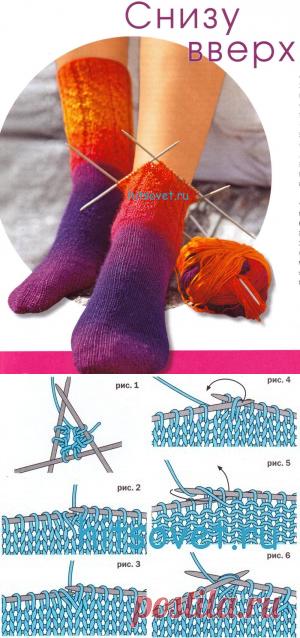 марсил спицами носки от мыска схемы фото окончания школы
