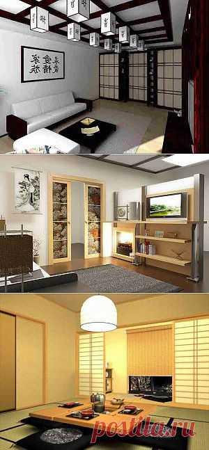 Гостиная в японском стиле: Магия Востока в вашем доме