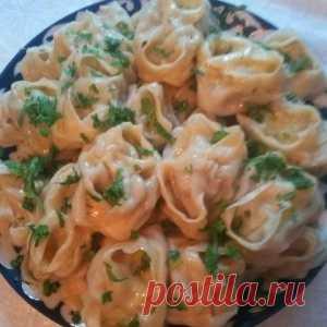 Манты по-узбекски - изумительно сытное, сочное и вкусное блюдо!