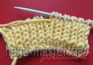 двойная резинка вязание крючком спицами вязание постила