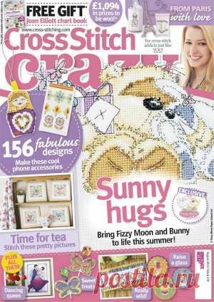 Cross Stitch Crazy №179 2013 August Журнал для тех, кто увлекается вышиванием крестом. В каждом номере авторы журнала предлагают коллекцию самых красивых проектов от лучших дизайнеров.