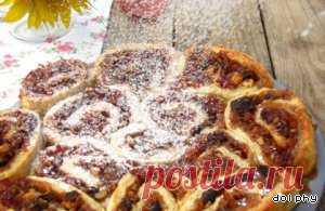 """Пирог """"Осенние роллы"""" – кулинарный рецепт"""