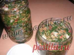 Зеленая заправка для супов   Saechka.Ru - рецепты с фото