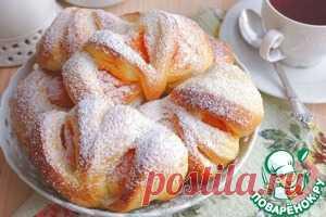 Булочки пряные с тыквенным кремом – кулинарный рецепт