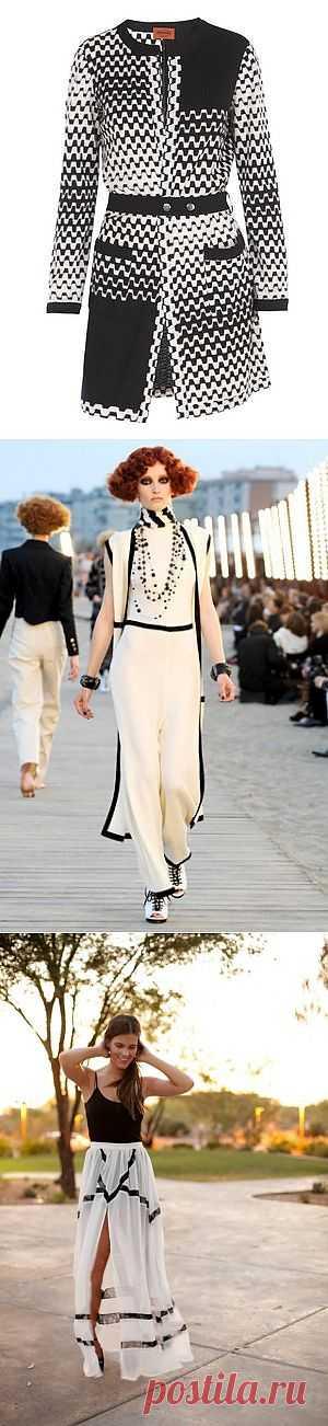 Черно-белая подборка / Детали / Модный сайт о стильной переделке одежды и интерьера