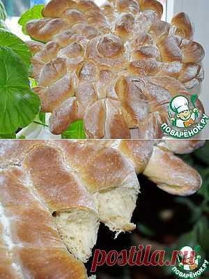 """Хлеб пшенично-ржаной """"Солнце"""" - кулинарный рецепт"""